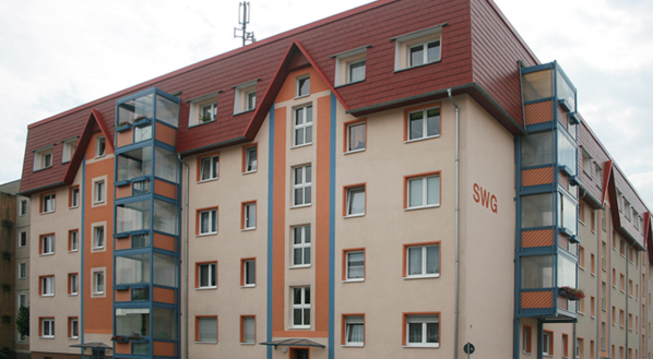 Wohnblock Schloßstraße und Töpferstraße 1,2