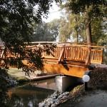 Brücke über die Hauptspree zum  Fiedermannhof